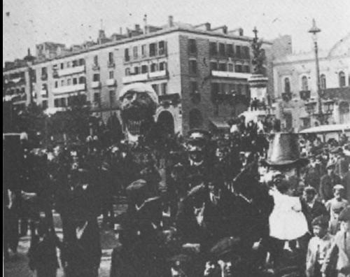 tragachicos de zaragoza principios del siglo xx