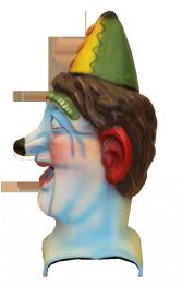 Cabezudo cadete Payaso