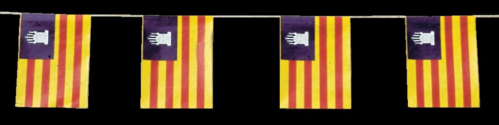 Banderas de Baleares para fiestas de Pueblos