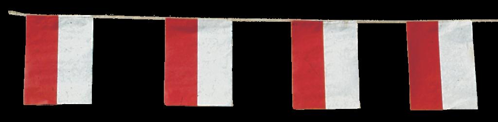 Banderas Cantabria para adornar calles de Pueblos en fiestas