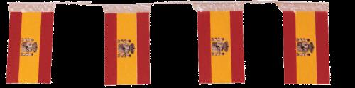 Banderas de España para adornar calles y plazas