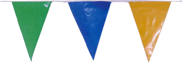 Banderas Triangulares para Fiestas de Pueblos