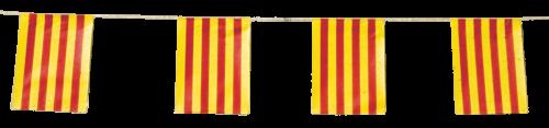Banderas Cataluña para pueblos en fiestas