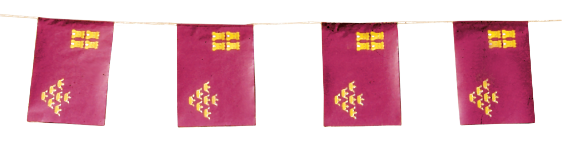 Banderas de Murcia para Fiestas de Pueblos