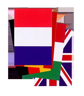 Banderas de paises para Fiestas