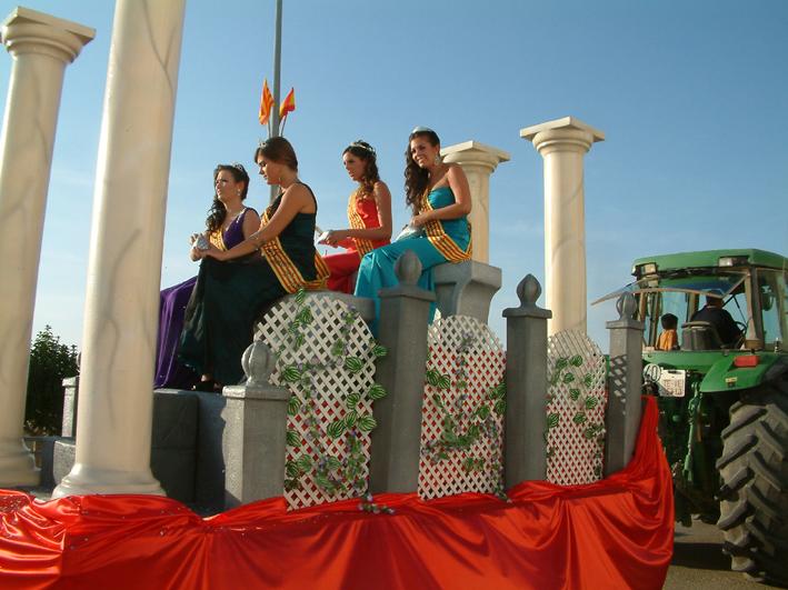 Carrozas de alquiler para desfiles