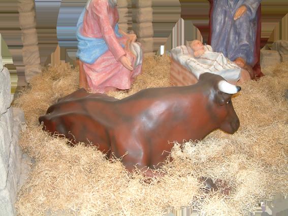 figura belen buey nacimiento