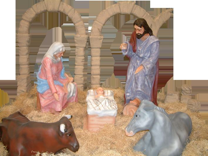 Figuras belen tama o real nacimiento aragonesa de fiestas for Nacimiento belen