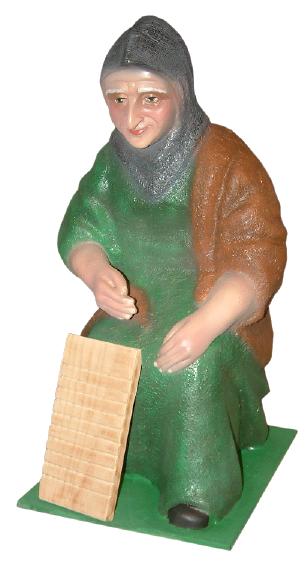 Figura de Belén Lavandera