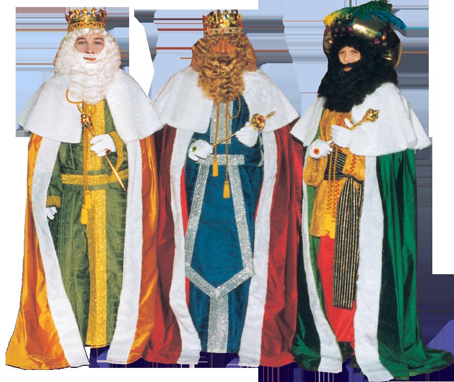 disfraces lujo reyes magos