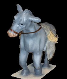 Figura de burro para belen monumental
