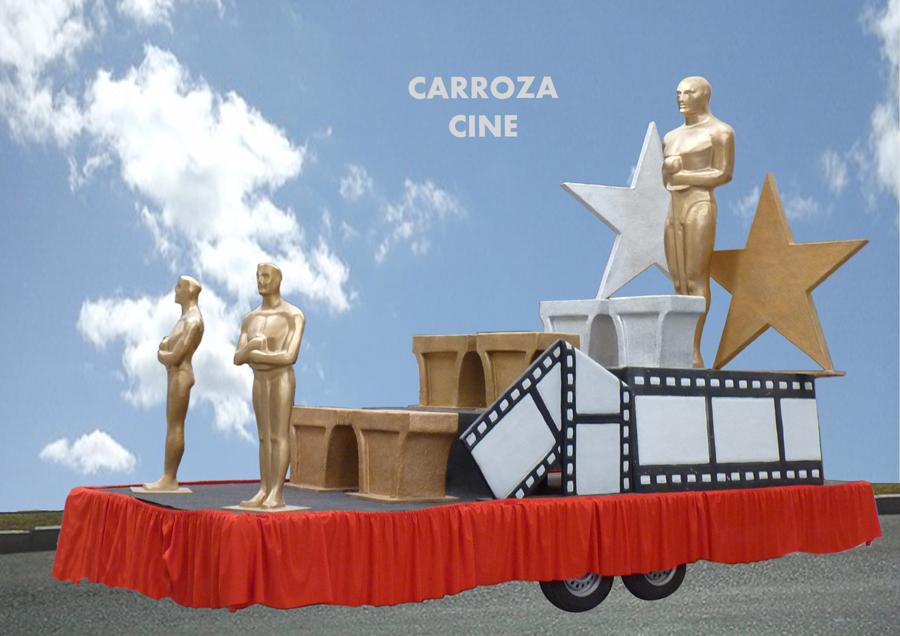 Carroza alquiler Cine