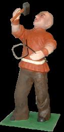 Figura de Belén del herrero