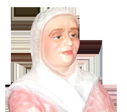 Figura de Belén Pastora con cesta
