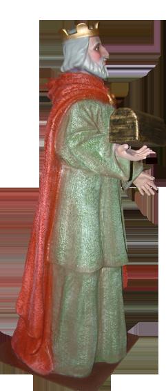 Figura de Belén Rey Melchor para belenes monumentales