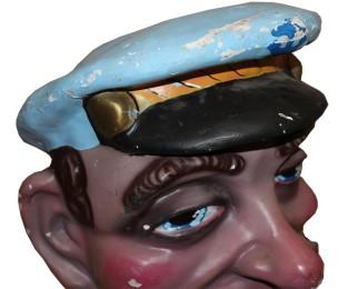 estado inicial del cabezudo Popeye de Pedrola