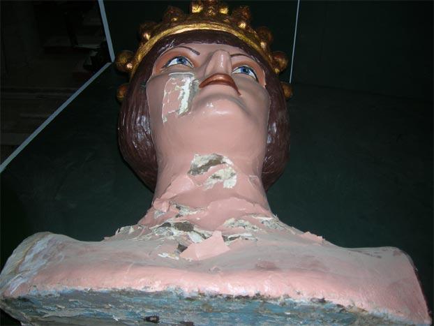 restauración gigantes villafranca de navarra