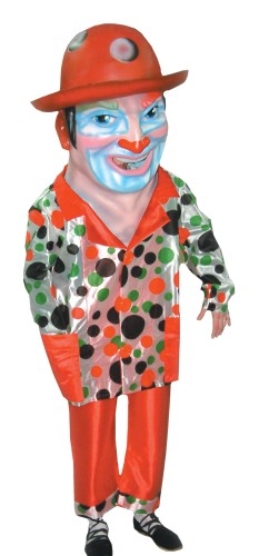 Cabezudo Comparsa Clown