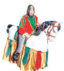 Caballo desfile medieval