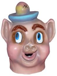 Cabezudo Infantil Cerdito Porky