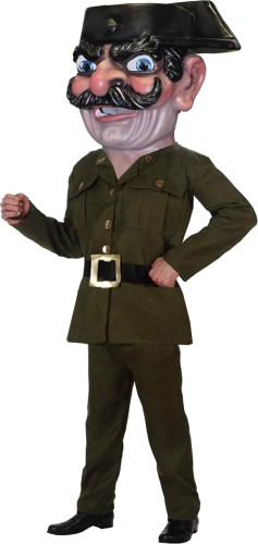 Cabezudo Especial Guardia Civil