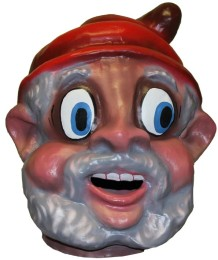 Cabezudo Infantil Papá Noel