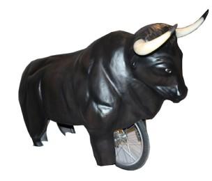 Toro con Rueda patas cortas