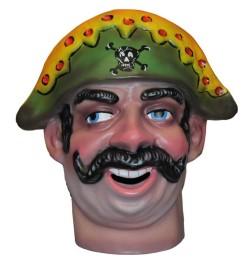 Cabezudo Infantil Capitán Pirata