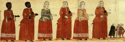 desfile corpus gigantes y cabezudos
