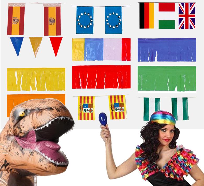 banderas para fiestas