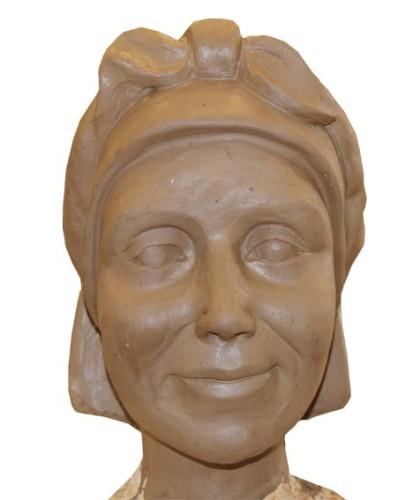 escultura figura lavandera fuentecantos soria