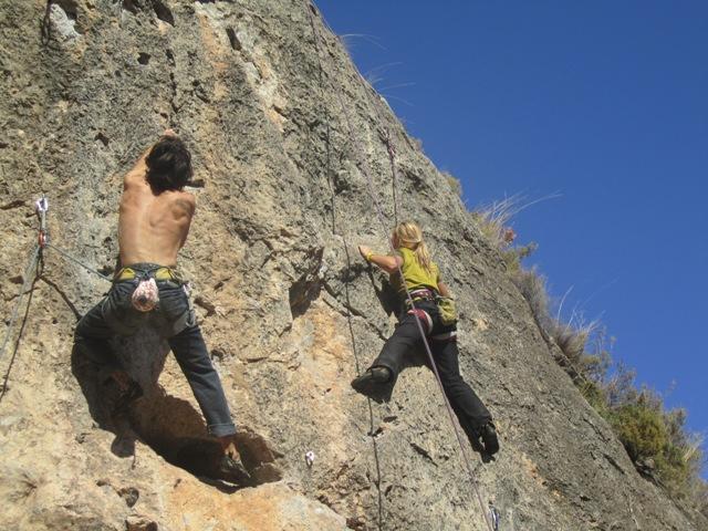 escalada en morata de jalón