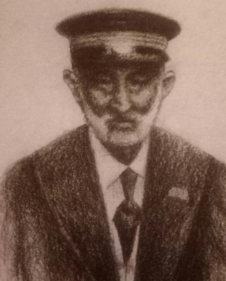 boceto de Pedro Marlasca Brihuega
