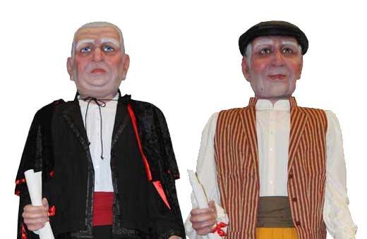 Gigantes móstoles alcaldes