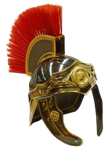 casco romano y vestuario