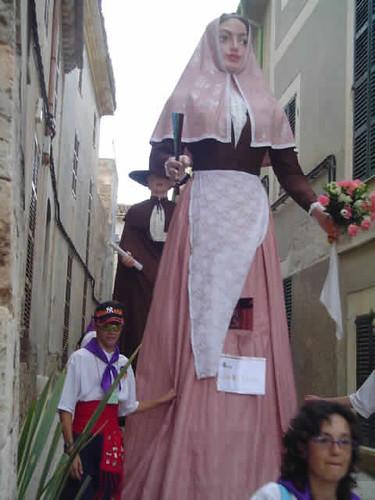 replica gigantes de Sant Lluis