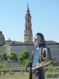 Figura de Goya en Zaragoza